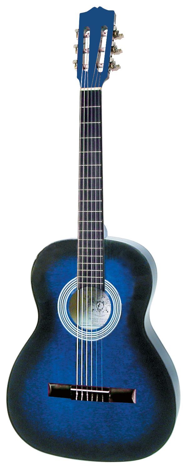 "Model KCL136BLS- 36"" Nylon String, Spruce Top, Blueburst"